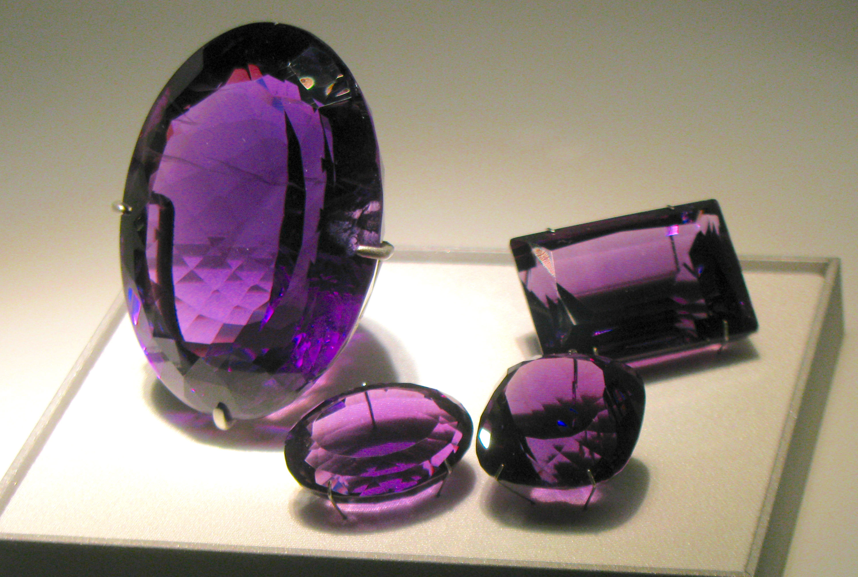 Oavl Pear Shape Jewelry Making Loose Gemstones Normal Cut Amethyst Amethyst Wholesale Lot Natural Purple Amethyst Round