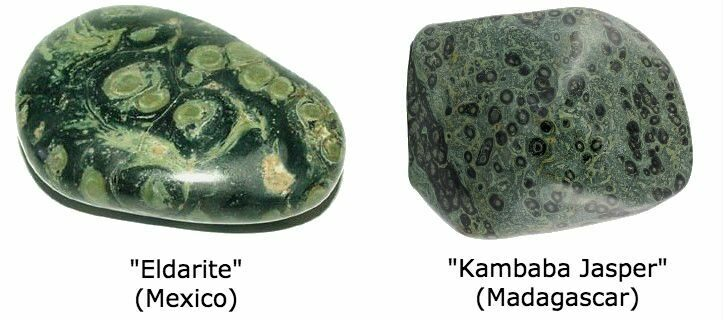 Kambaba Jasper vs Eldarite or Nebula Jasper