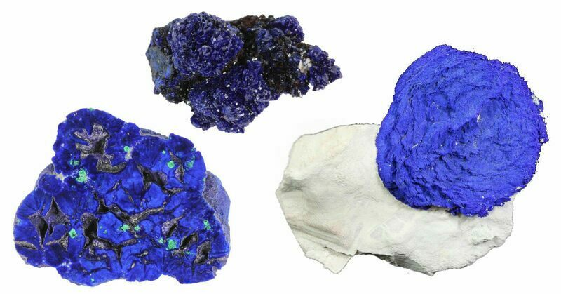 Popular Crystals - Azurite
