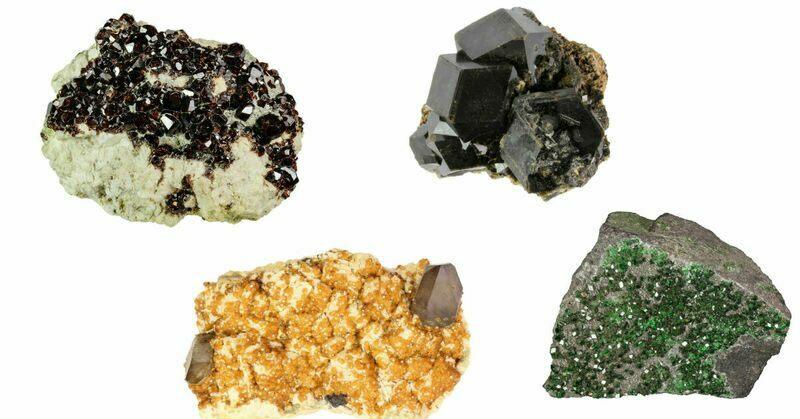 Popular Crystals - Garnets