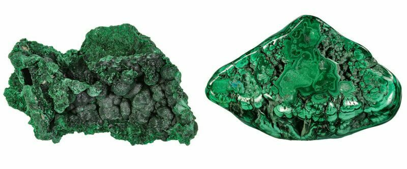 Popular Crystals - Malachite