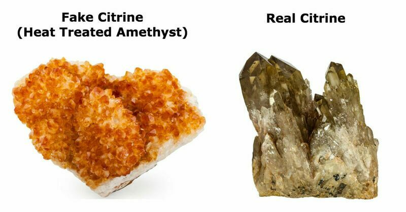 Popular Crystals - Citrine
