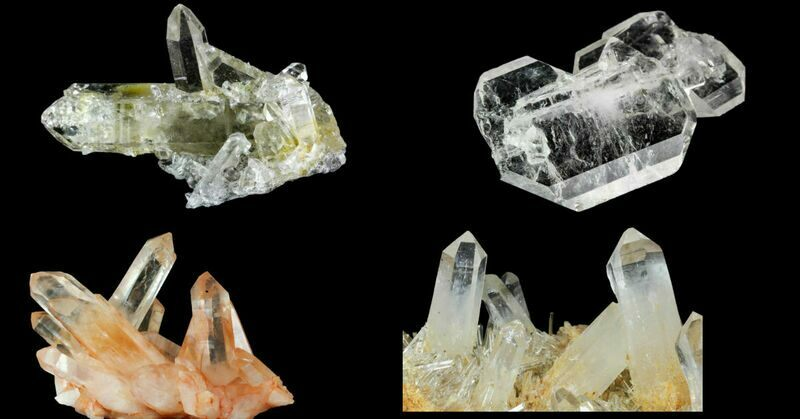 Popular Crystals - Quartz