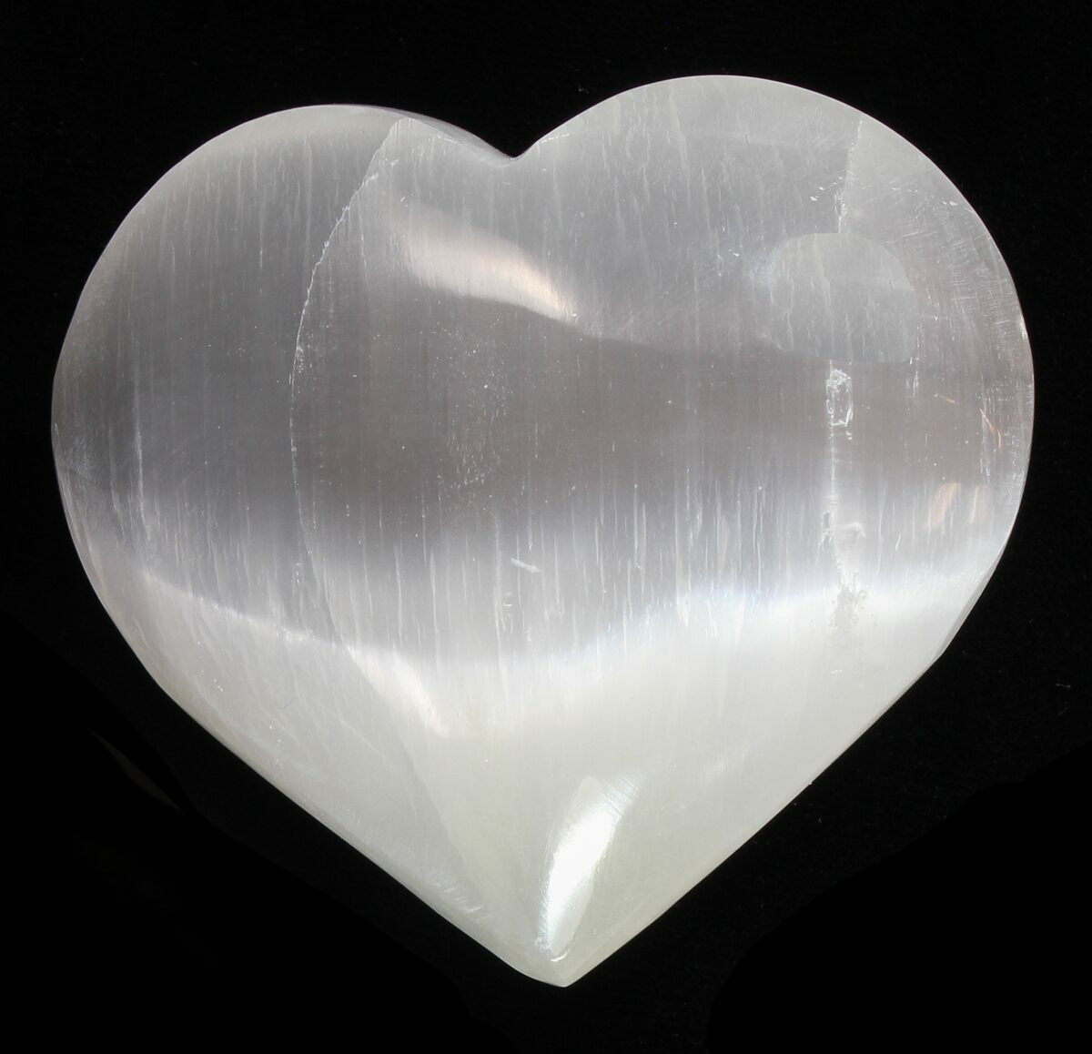 2 1  4 u0026quot  polished selenite hearts