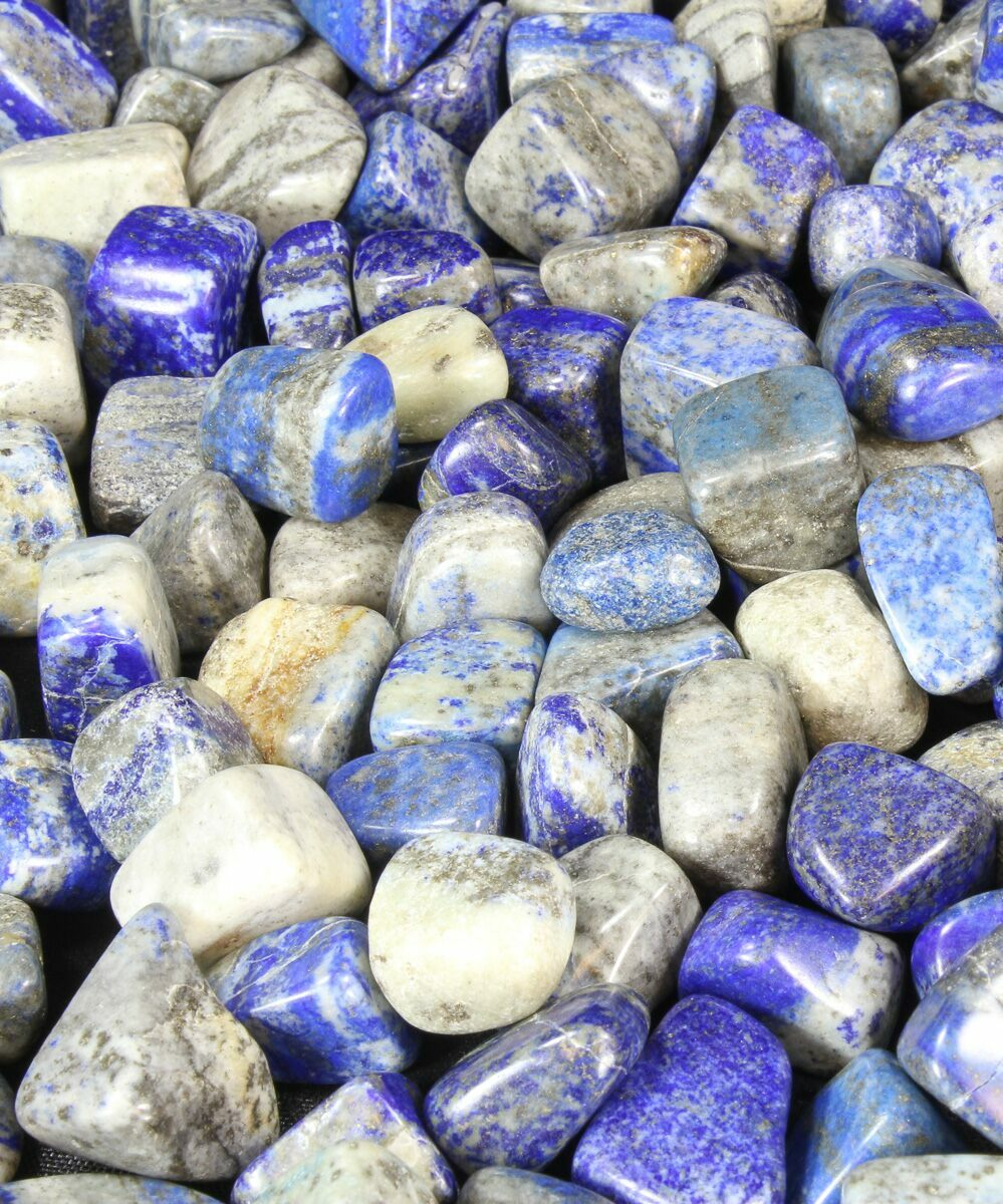 bulk polished lapis lazuli 8oz 25pc for sale fossilera com