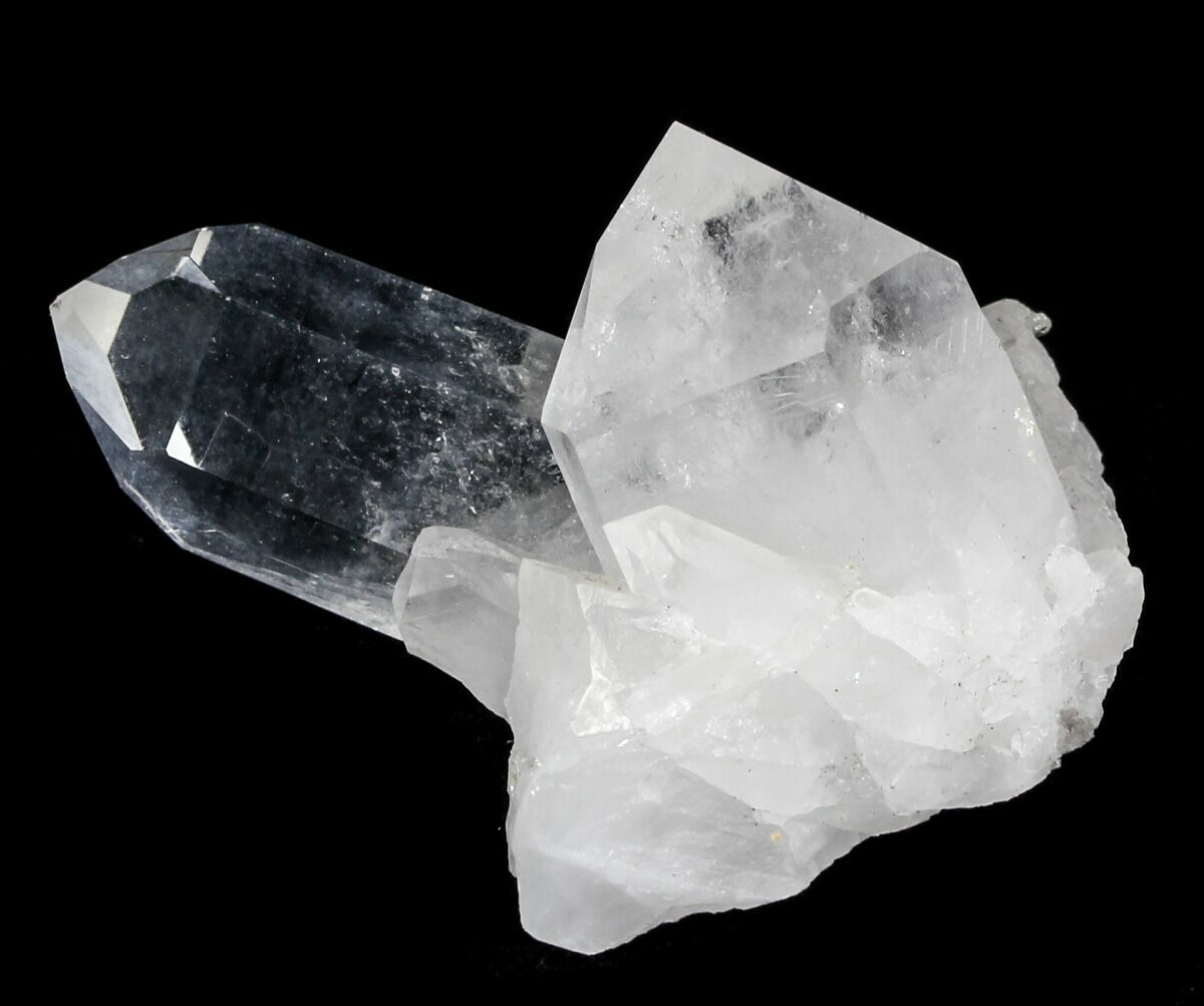 "1.9"" Quartz Crystal Cluster - Arkansas For Sale (#30423 ...Quartz Crystal"