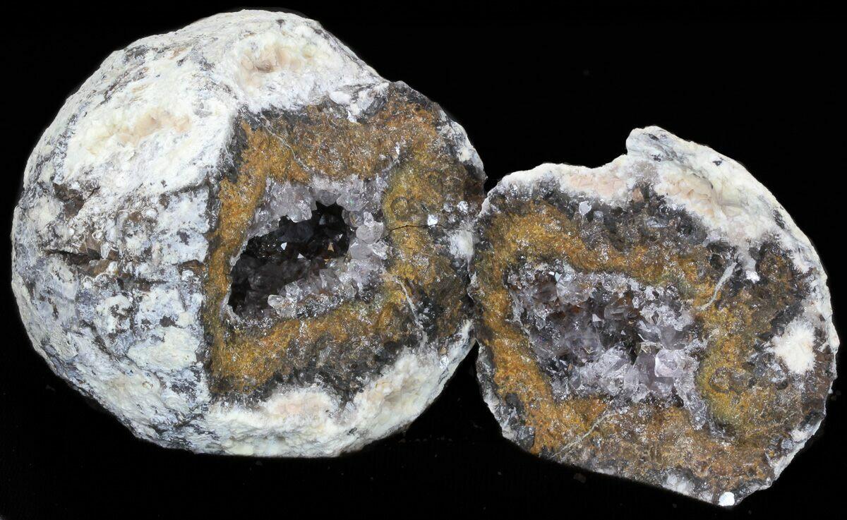 31quot las choyas geode with clear quartz for sale 38529