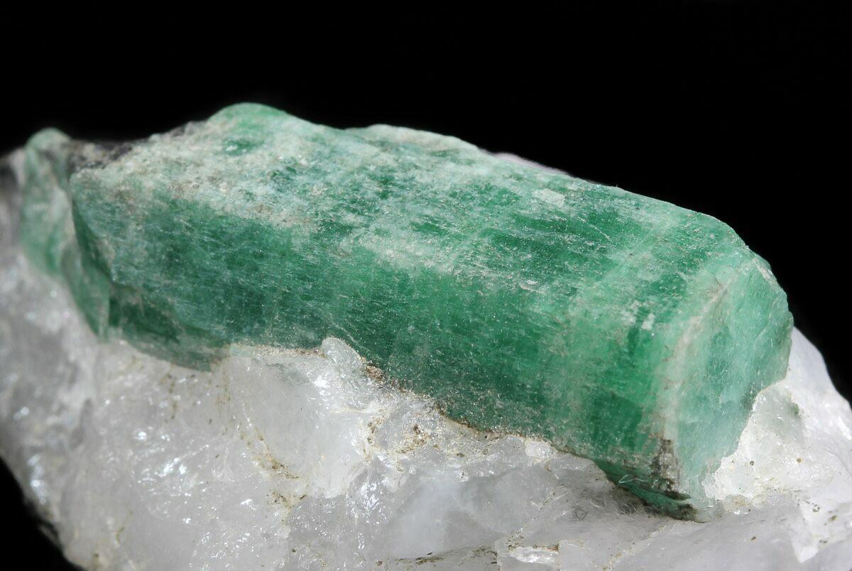 1 45 beryl emerald in quartz biotite bahia brazil for sale
