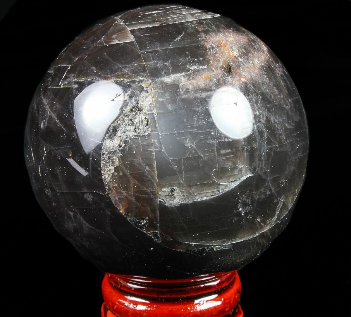 "2.1"" Polished, Black Moonstone Sphere - Madagascar For ..."
