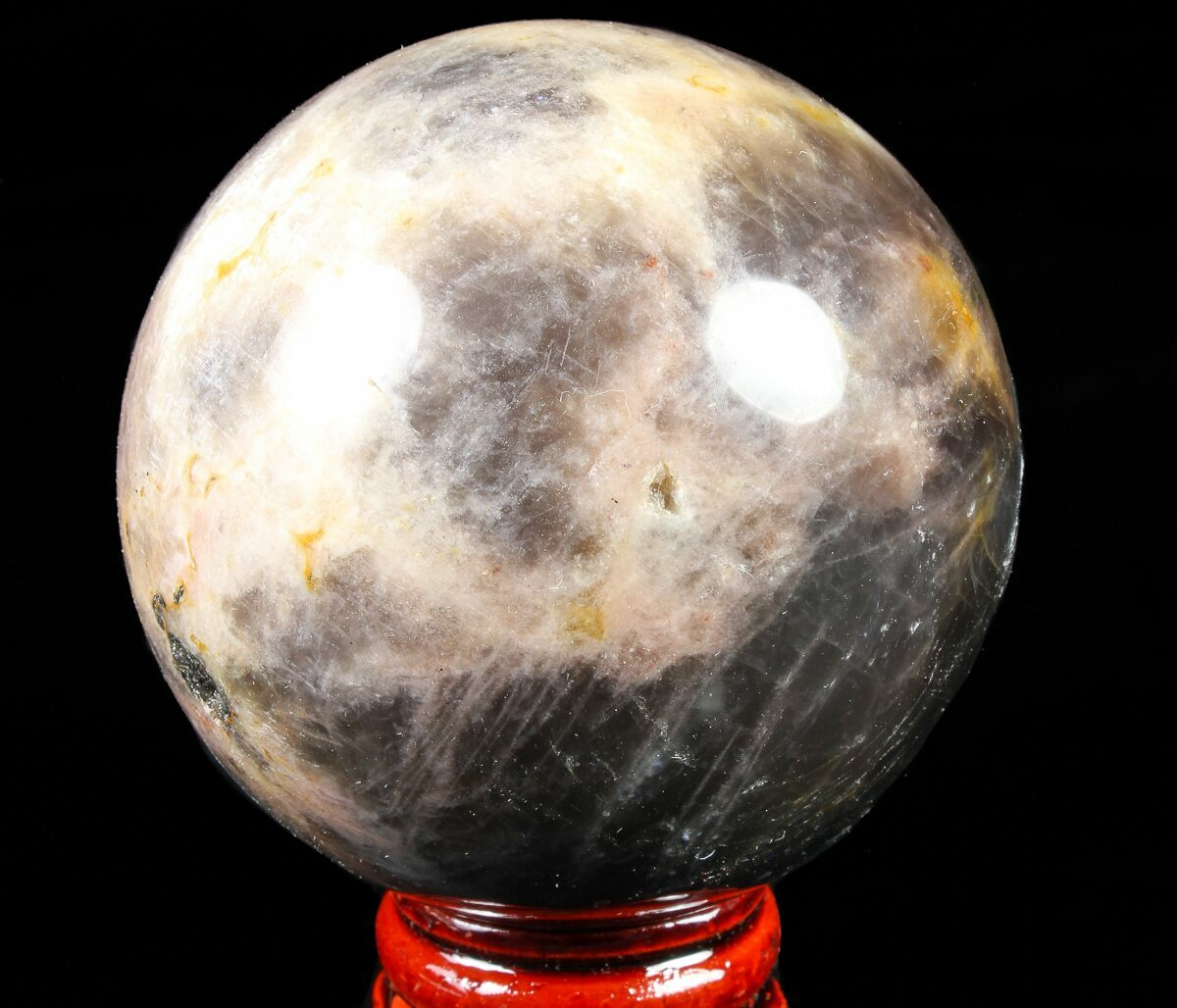 "2.4"" Polished, Black Moonstone Sphere - Madagascar For ..."