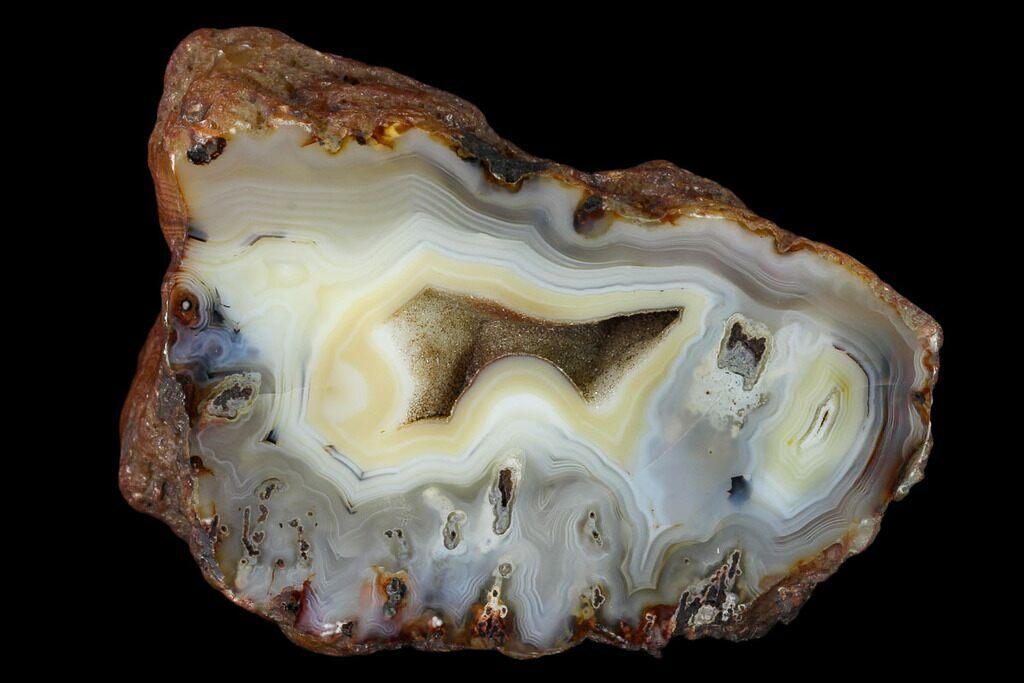 Madagascar ZyaMara Polished Agate Slab Pieces