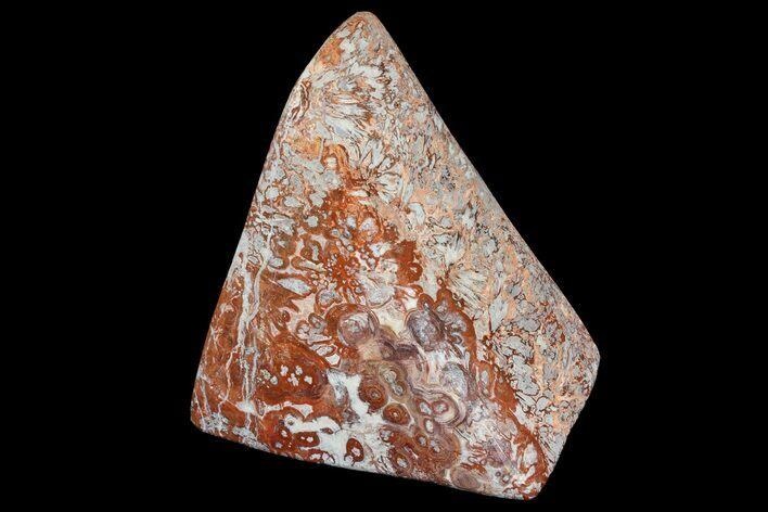 Mexican Agate Slice P1267 Gemstone