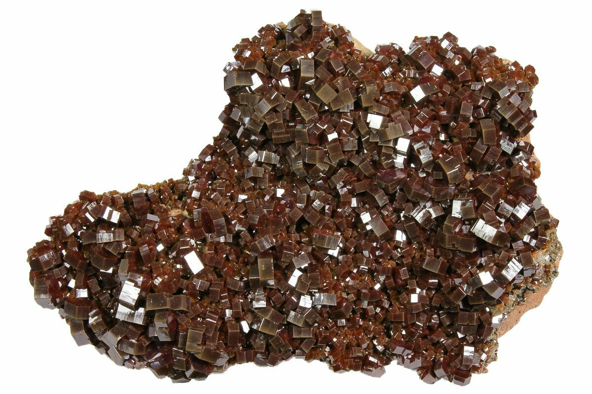 from Morocco Barite Natural Stone Crystals Gift Rock Raw Real Metaphysical Rare Shop Spiritual Specimen Store Birthday Vanadinite Stone